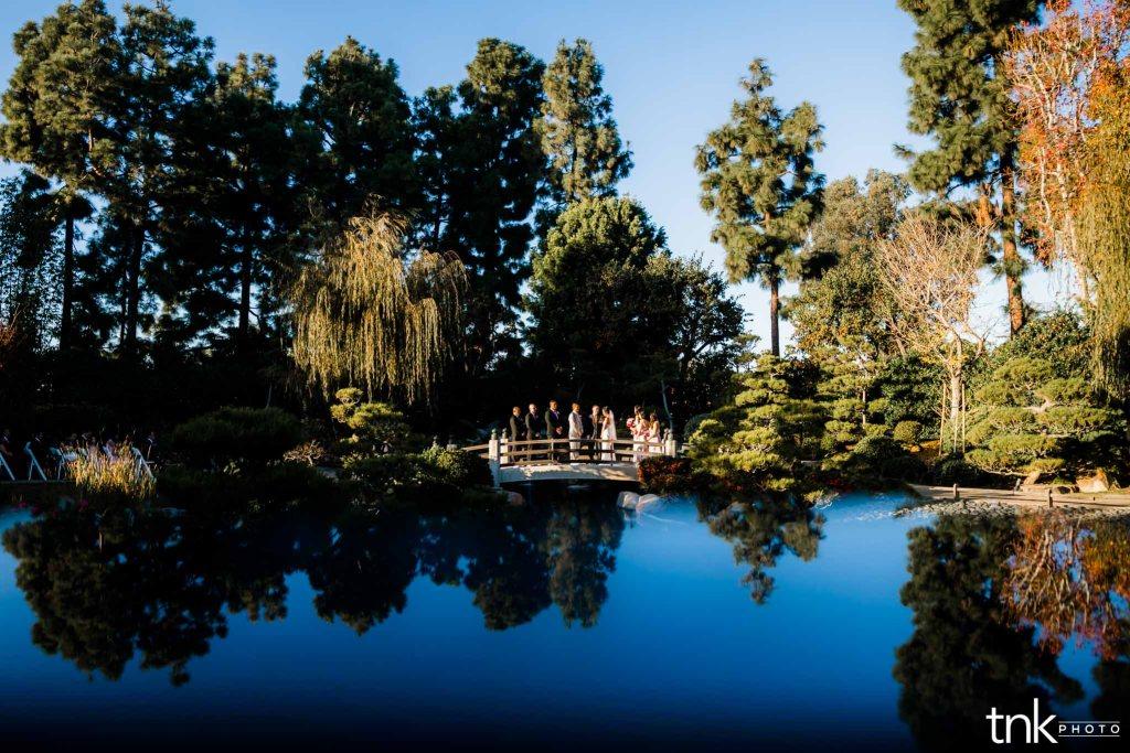 Earl Burns Miller Japanese Garden Wedding