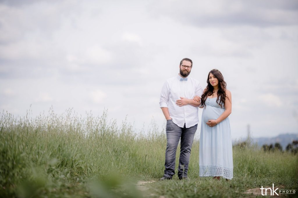 quail hill maternity session Reina and Nathan