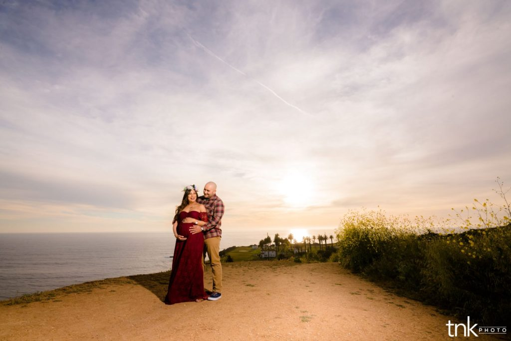 Palos Verdes Maternity Session Edna and Jesse