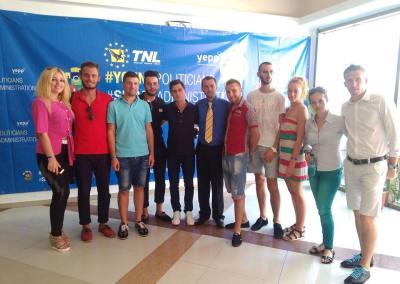 Numeroși membri ai TNL Alba au participat la Școala Politică de Vară a TNL de la Eforie Nord
