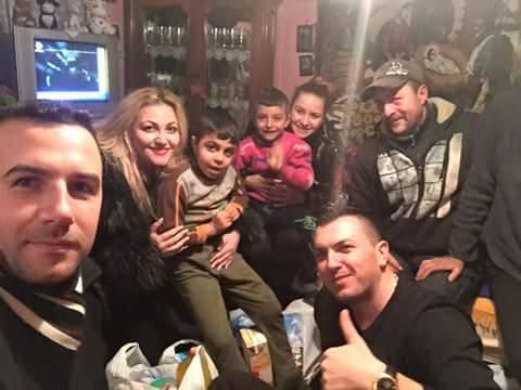 Tinerii liberali din Alba Iulia au oferit cadouri de Crăciun