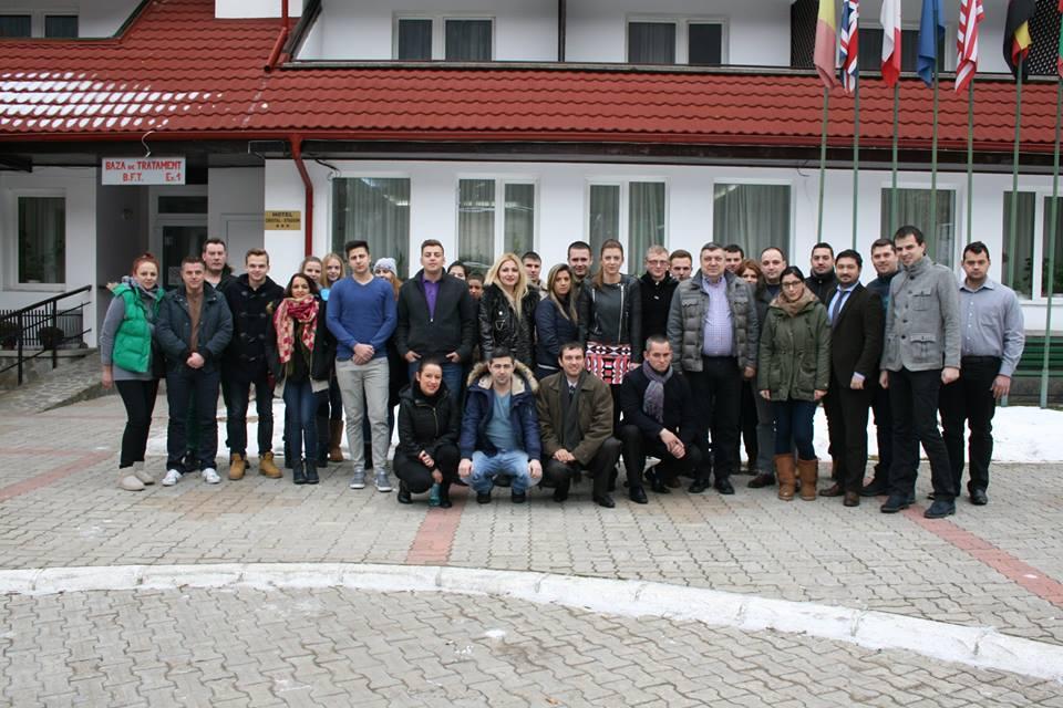 Tinerii liberali din Alba la Școala de Iarnă a Comisiei Naționale de Educație a TNL