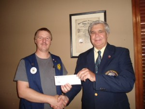 2013-08 Dandridge Donation to LVBI