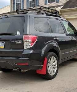 Subaru Forester Rear Passenger Side