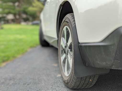T N M F Forester SJ mudflaps rear driver side