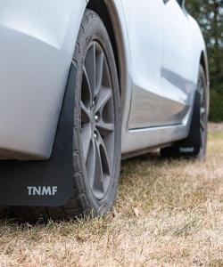 T N M F 2012 - 2016 Impreza rear passenger mud flaps