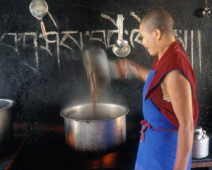 Nun Cooking