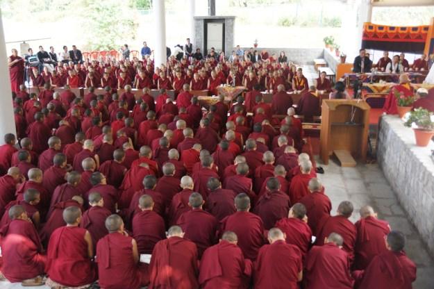 Jang Gonchoe debate by Tibetan Buddhist nuns 2013
