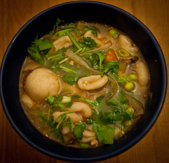 Tibetan guthuk soup