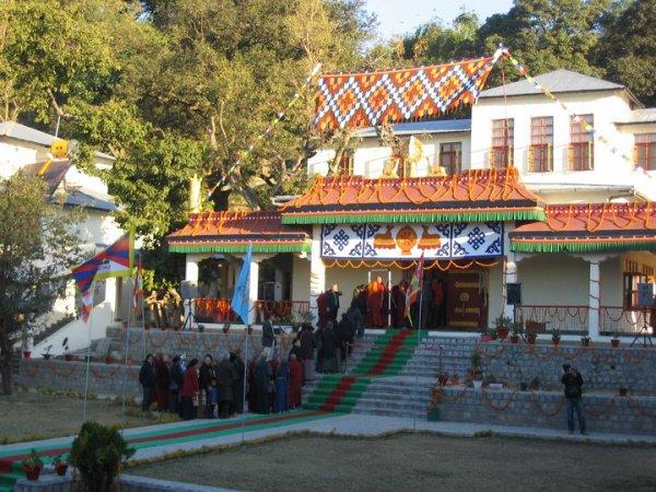 inauguration of Shugsep Nunnery