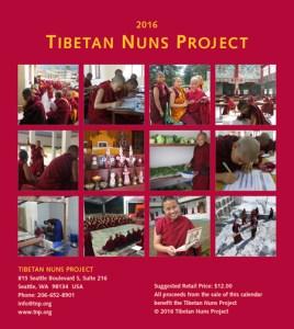 Tibetan Nuns Project, 2016 Calendar, 2016 dates, 2016 holidays, Tibetan lunar calendar, Tibetan Buddhism, Tibetan Buddhist calendar