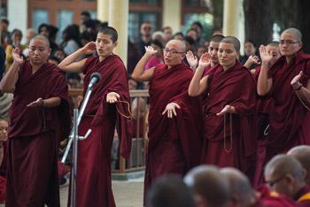 Tibetan nuns, Buddhist nuns, Dalai Lama, Jang Gonchoe, Tibetan Nuns Project