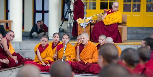 Buddhist debate, Buddhist women, Tibetan nuns, Buddhist nuns, Tibetan Nuns Project, Jang Gonchoe
