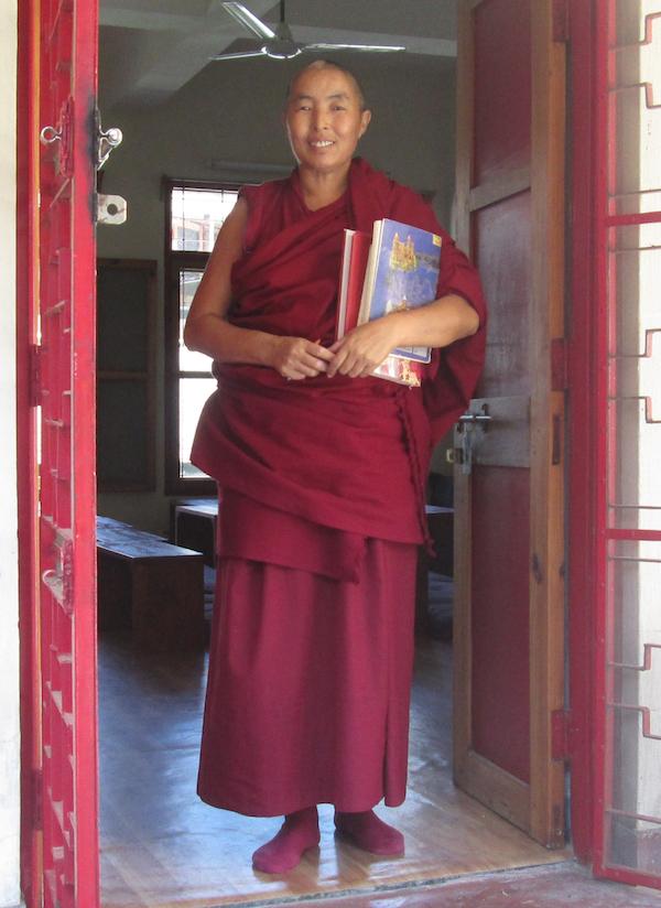 Lobsang Dolkar, Tibetan Nuns Project, Buddhist nun, Tibetan nun, Dolma Ling nun