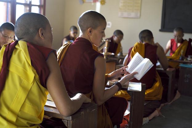 Tibetan nuns, Buddhist nuns, pujas, order pujas, Tibetan Nuns Project, Dolma Ling. puja