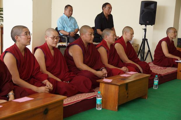 Tibetan nun, Buddhism, Geshema, Geshe, Tibetan Nuns Project, Geden Choeling, Dharamsala, Tibetan Buddhism