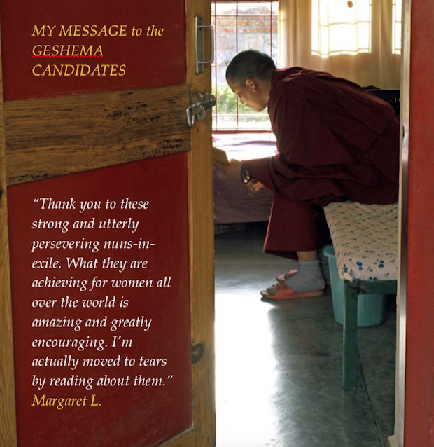 Geshema, Tibetan Buddhism, Tibetan nuns, Buddhist women, Tibetan Nuns Project,