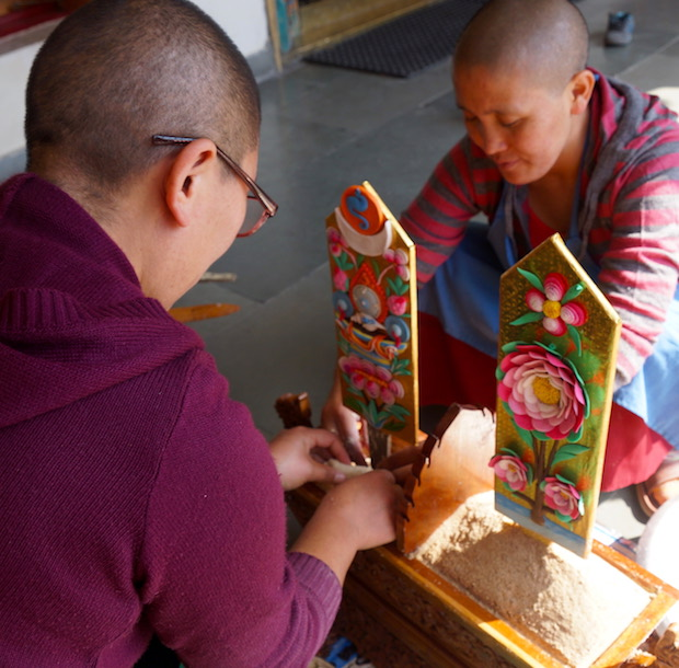 Tibetan Buddhist butter sculpture