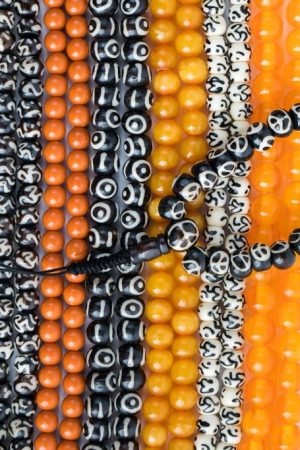 Assorted Bead Malas, mala, malas, Tibetan malas, Tibetan prayer beads,