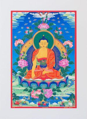 Buddha-unframed