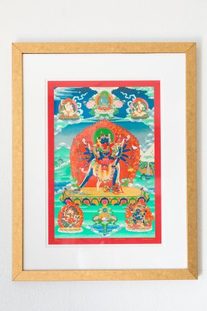Chakra Sambhawa-framed