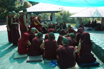 The Jang Gonchoe was once only open to monks. The nuns' debate event began in 1995.