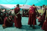 Monastic debate is of critical importance in traditional Tibetan Buddhist learning.
