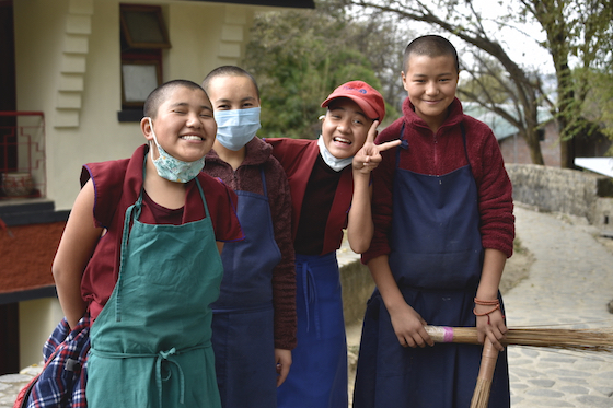 Dolma Ling Tibetan Buddhist nuns 2020