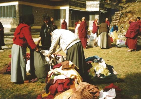 Tibetan nuns in exile, Tibetan Buddhist nuns escape,