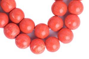 Eco Friendly Coral-Light mala, mala, malas, Tibetan malas, Tibetan prayer beads,