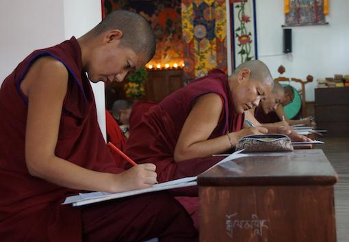 Tibetan Buddhist nuns' education, Dolma Ling, Education Tibetan Buddhist nuns