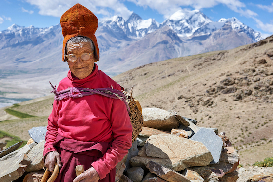 Tibetan Buddhist nun Zanskar Olivier Adam