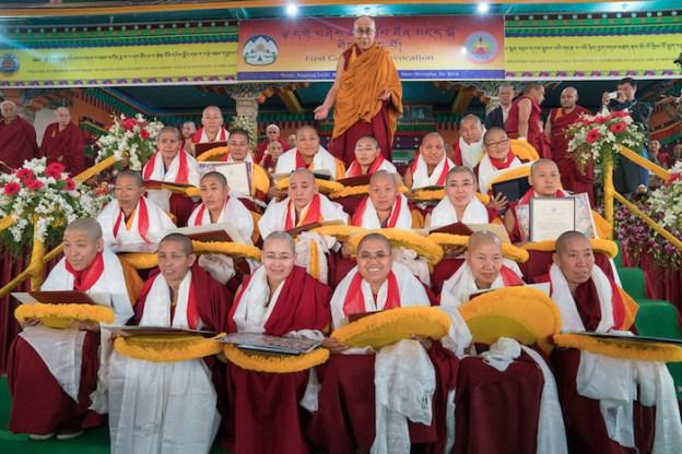 Tantric studies, Geshema, Tibetan Buddhist nuns, Dalai Lama