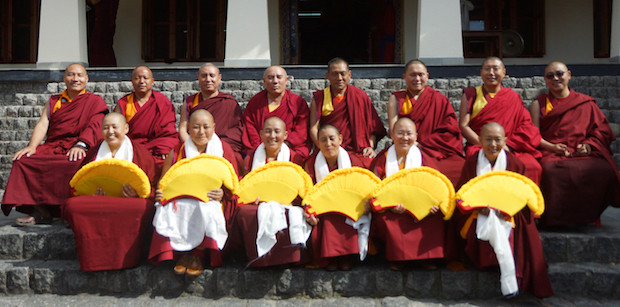Geshema nuns, Tibetan Buddhist nuns, monks, Tibetan Nuns Project