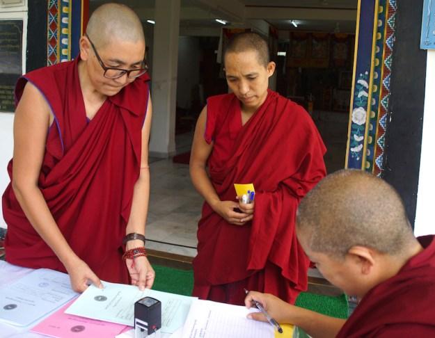 Geshema, geshema exams, Tibetan Buddhist nuns, Buddhist nuns, Tibetan Buddhism, Tibetan Nuns Project
