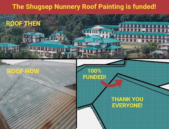 Shugsep Nunnery Roof