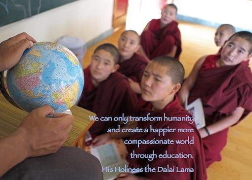 educating Tibetan nuns, Education Tibetan Buddhist nuns