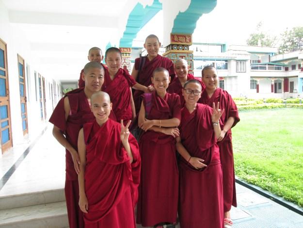 Sakya College for Nuns, Tibetan Nuns Project, group of Buddhist nuns, Tibetan Nuns, Tibetan Nuns Project, Sakya