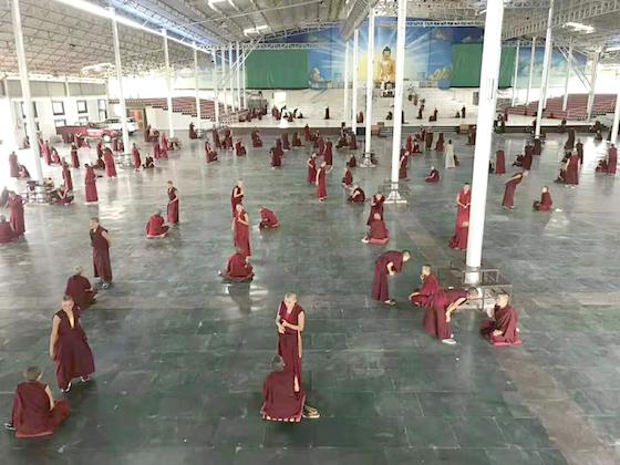 Jang Gonchoe Inter Nunnery debate 2019 in Bodh Gaya