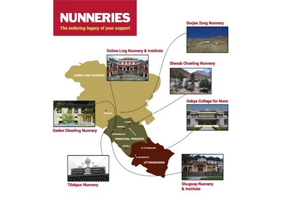 Tibetan Nuns Project, Buddhist nunneries, Tibetan nunneries, Tibetan nuns, Buddhism in India,