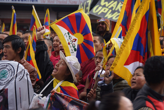 March 10th, Dharamsala, March 10th, March 10th demonstration, Tibetan nun, Tibetan Nuns Project, Tibetan Uprising Day