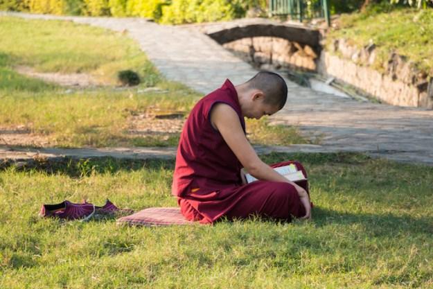 drainage, monsoon, Buddhist nun, Tibetan Nuns Project, Dolma Ling Nunnery