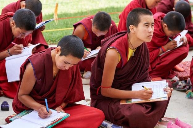 Tibetan Nuns, Tibetan Nuns Project, Tibetan education, Tibetan culture, what Tibetan Buddhist nuns learn, Sherab Choeling, Tibetan Buddhist nuns
