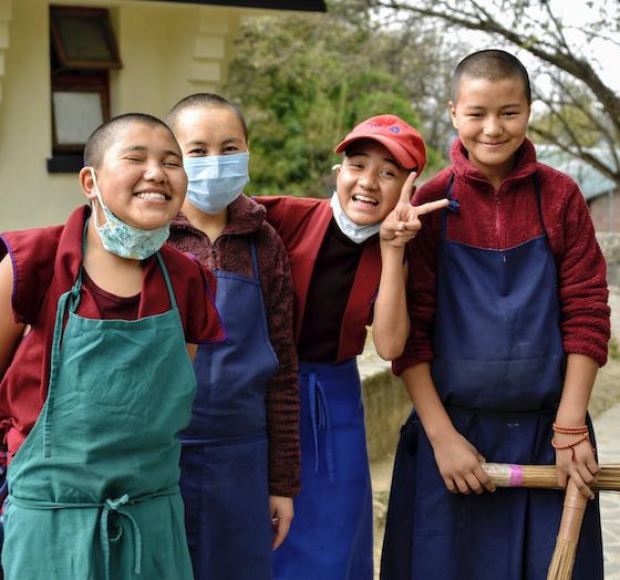2022 calendar, Tibetan Nuns Project calendar, charity calendar, 2022 charity calendar