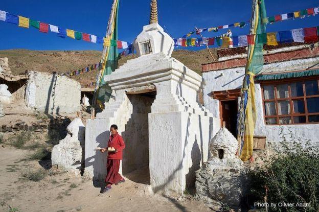 Photo of Dorjee Zong Nunnery in Zanskar by Olivier Adam