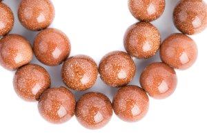 Sandstone Copper mala, mala, malas, Tibetan malas, Tibetan prayer beads,