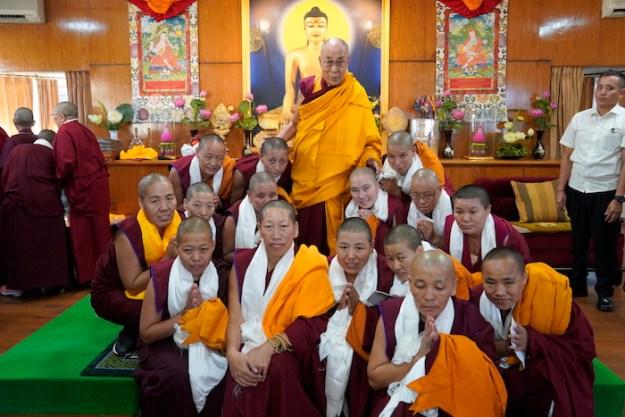 Lopon, Shugsep, nunnery, Dalai Lama, Tibetan Buddhist nuns