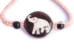 Macrame Bracelet Elephant