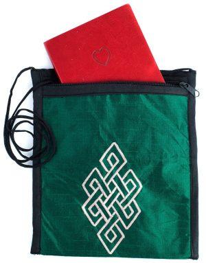 Silk Applique Green