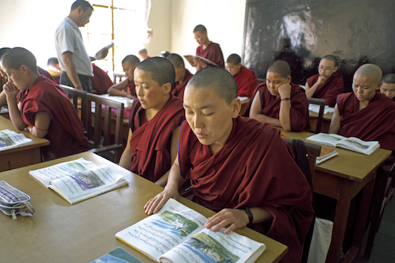 teacher appreciation, Geden Choeling Nunnery, education of women, Tibetan nuns